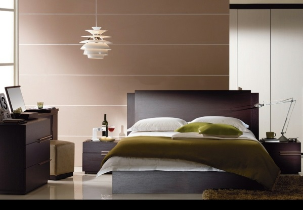 schlafzimmergestaltung und wandfarben charme und luxus. Black Bedroom Furniture Sets. Home Design Ideas