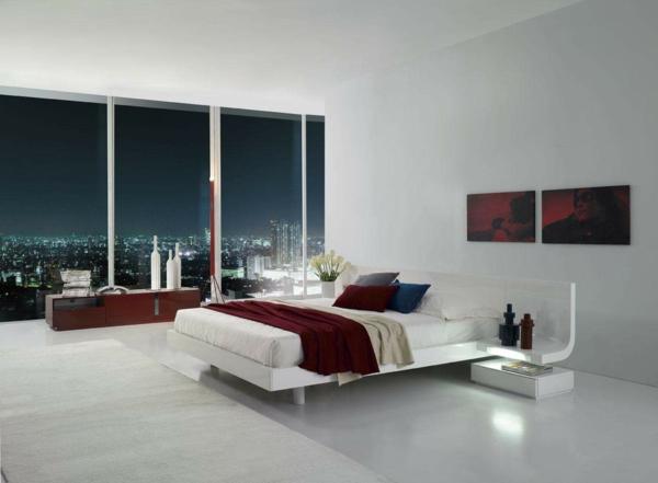 schlafzimmer einrichten Schlafzimmergestaltung und Wandfarben nacht