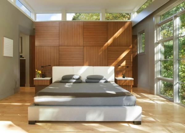 schlafzimmer einrichten deko ideen schlafzimmergestaltung natur