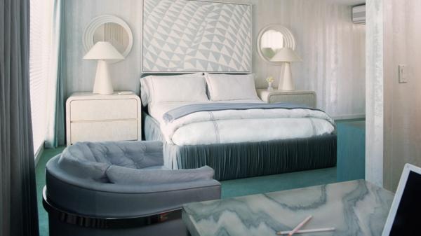 schlafzimmer einrichten deko ideen schlafzimmergestaltung tischlampe