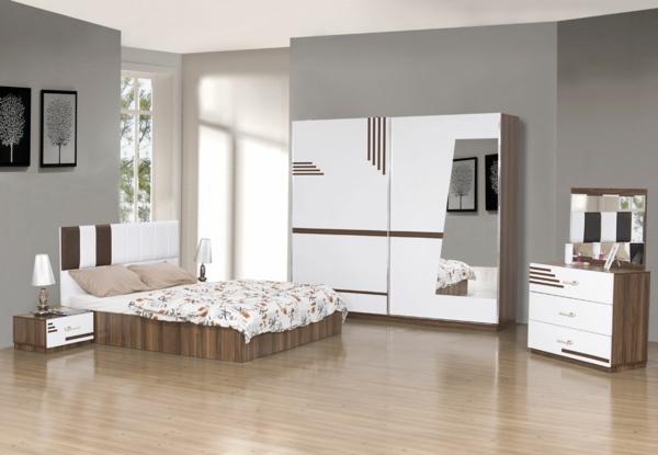 einrichten deko ideen schlafzimmergestaltung weiß schlafzimmer
