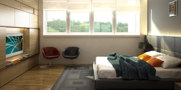 schlafzimmer einrichten gestalten ideen texturen