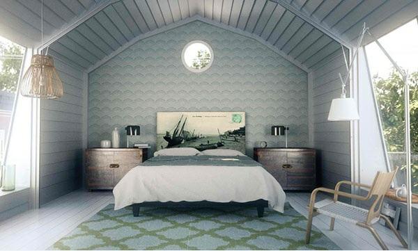 schlafzimmer einrichtungsideen bettkopfteil kopfende teppichboden