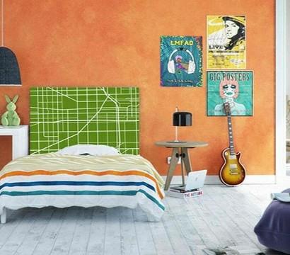 Schlafzimmer Einrichtungsideen - originelle Kopfteile für Ihr Bett
