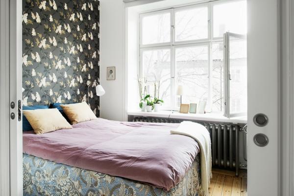 schlafzimmer einrichtungsideen skandinavisches design