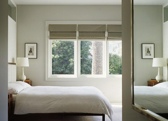 raffrollos - praktischer fenster sichtschutz für ihr zuhause - Schlafzimmer Fenster