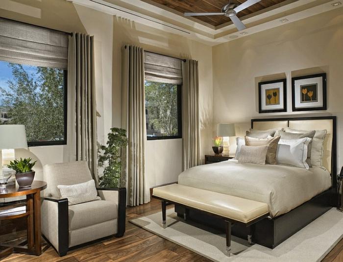 Wohnzimmerfenster Vorhänge | Möbelideen Wohnzimmer Grose Fensterfront