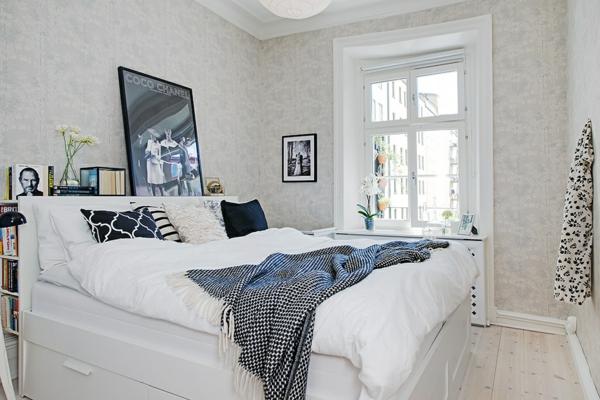 Schlafzimmer skandinavischer stil  Schlafzimmer Ideen im skandinavischen Stil