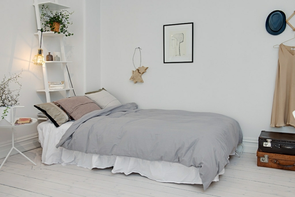 Awesome Schlafzimmer Im Skandinavischen Stil Pictures - House ...