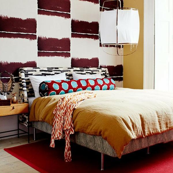 schlafzimmereinrichtung farben gestalten dekoideen gelb