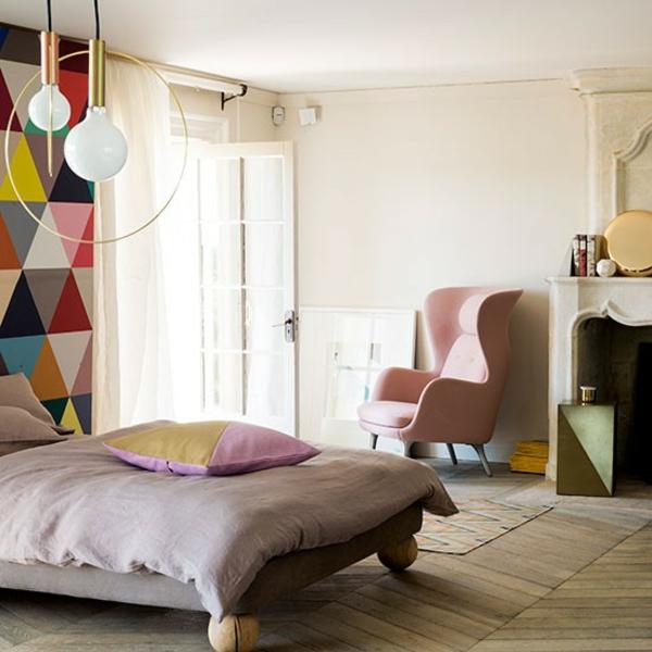 schlafzimmereinrichtung farben gestalten dekoideen modern weiß