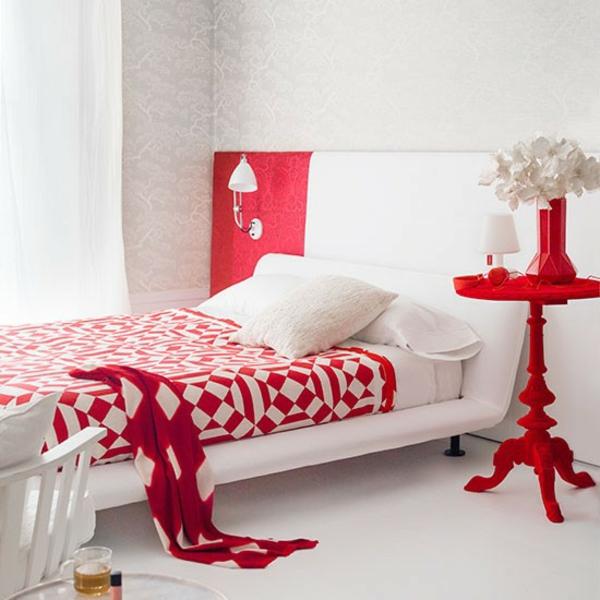 Schlafzimmer Gestalten - 144 Schlafzimmer Ideen Mit Stil Schlafzimmer Farben Rot