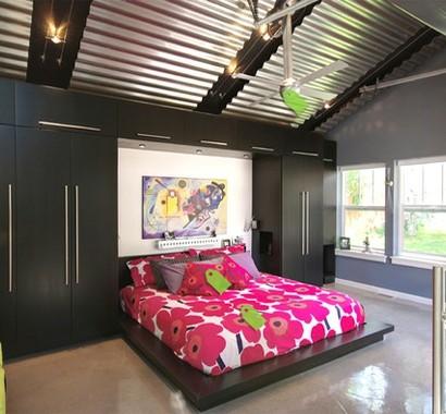 Schlafzimmerwand gestalten farbkombination und - Schlafzimmerwand gestalten ...