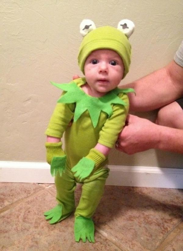 selbstgemachte kostüme kermit frosch diy projekte cool