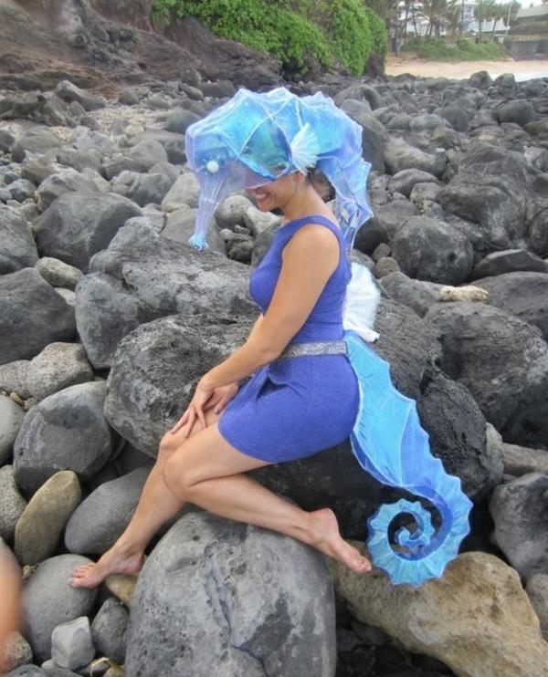 selbstgemachte kostüme seepferdchen diy projekte cool