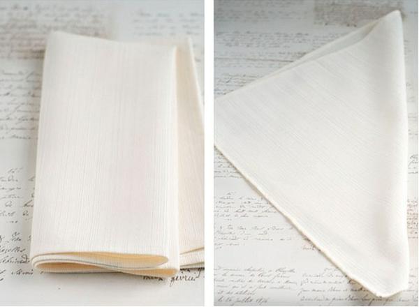 servietten-tischdeko-basteln-papierfaltkunst-stoffserviette