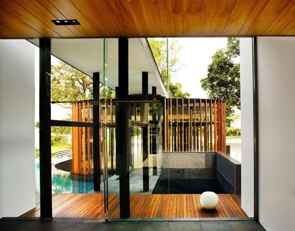modernes haus in singapur - screen haus von den k2ld-architekten - Moderne Haus Architektur