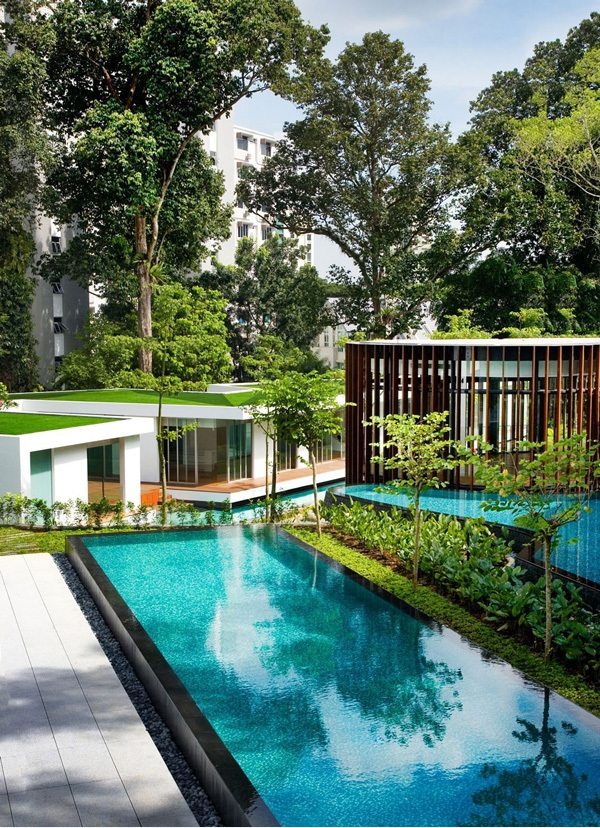 singapur screen haus k2ld modernes haus nachhaltige architektur pool