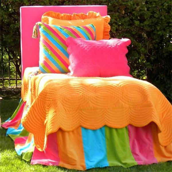 dekoration farbiger stuhl party deko
