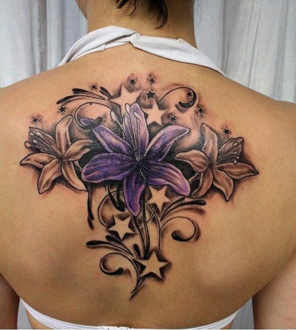 sterne tattoo bedeutung blumenmuster