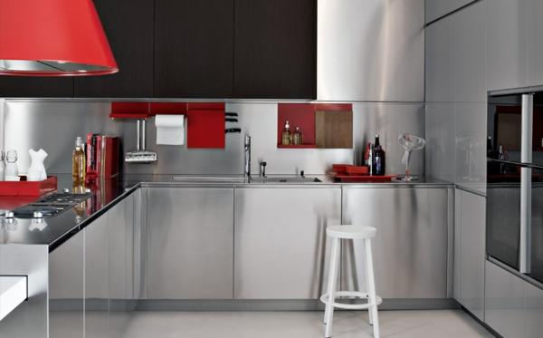 modulküchen küchen design ideen stahl