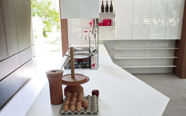 modulküchen küchen design kücheninsel große oberfläche