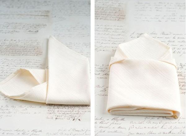 stoffserviette-falten-tischdeko-ideen-papierfaltkunst