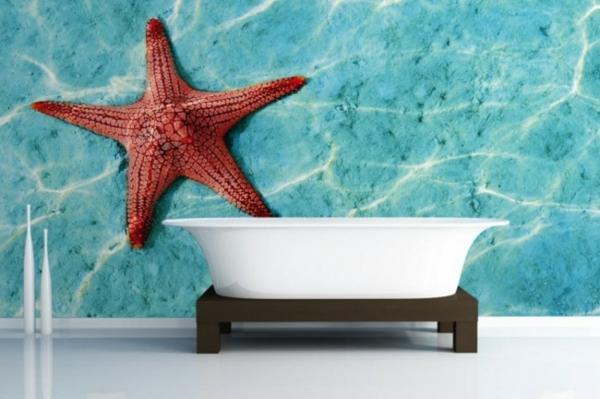 tapeten ablösen haushalt schöne designs badewanne sterne