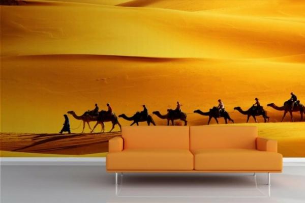 tapeten entfernen haushalt schöne designs orange wandgestaltung