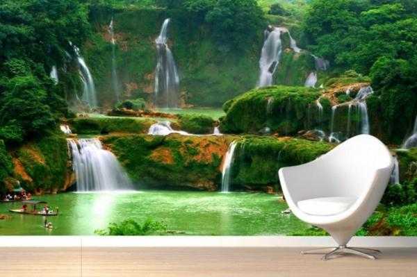 tapeten grünes entfernen haushalt schöne designs sessel weiß