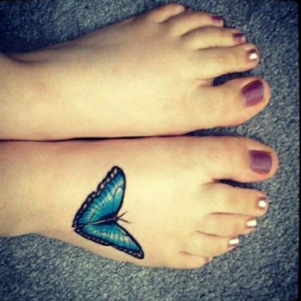 tattoo am fuss tattoos designs schmetterling
