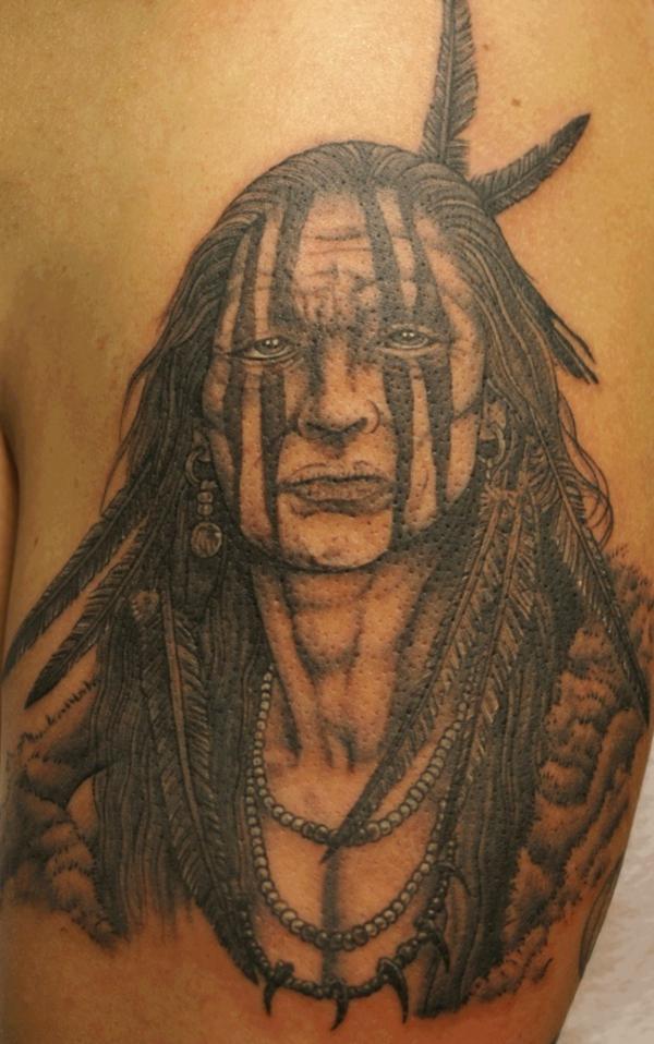 tattoo designs einheimische amerika oberarm