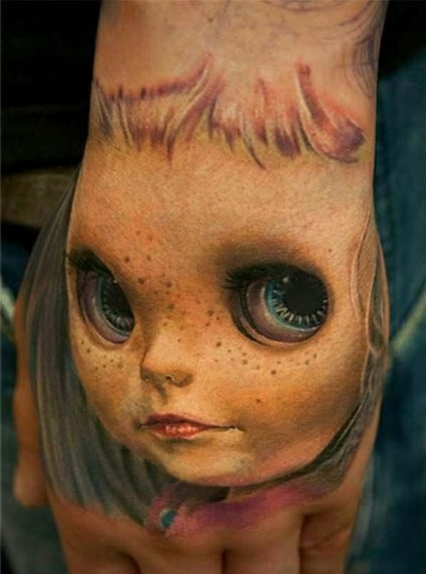 tattoo designs tattoos 3d horror puppe