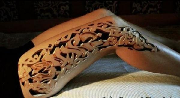 tattoo motive coole tattoos 3d bein