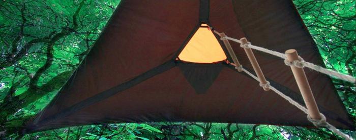 tentsile camping zelte hängend seilleiter alex shirley smith