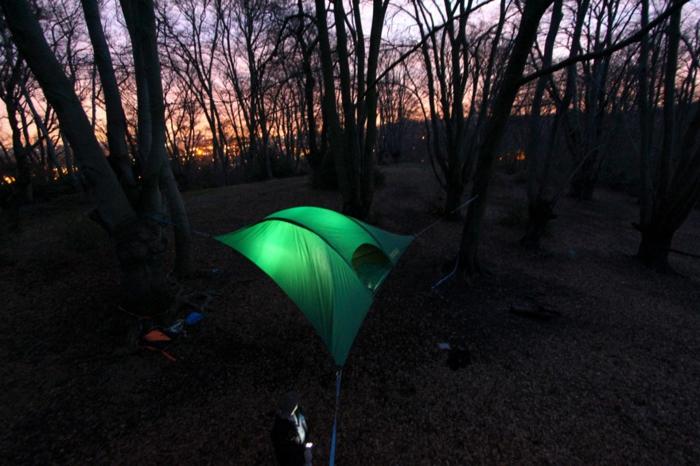 tentsile zelte hängende zelte alex shirley smith zelt aufbauen