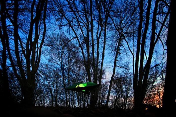 tentsile zelte hängende zelte alex shirley smith zelten im wald