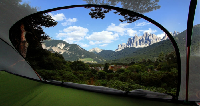 tentsile camping zelte hängende zelte in der luft blick