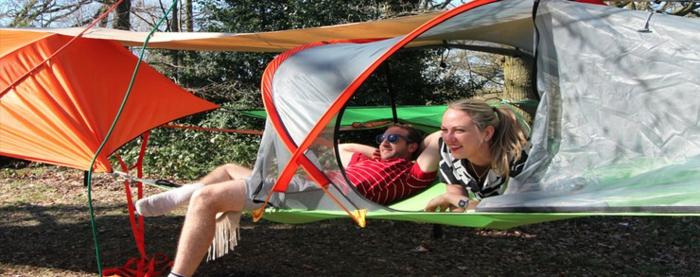 tentsile hängende camping zelte alex shirley smith baumhaus hängematte zelt