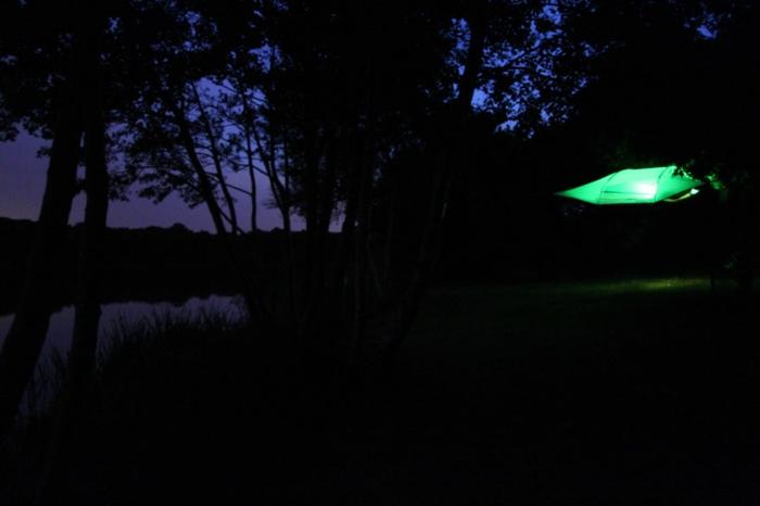 tentsile hängende zelte alex shirley smith zelt nachtsüber