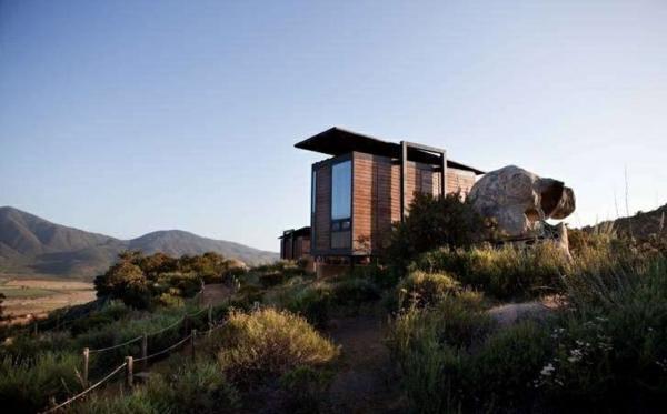 umweltfreundliches design bungalow aus holz besondere hotels grüne architektur