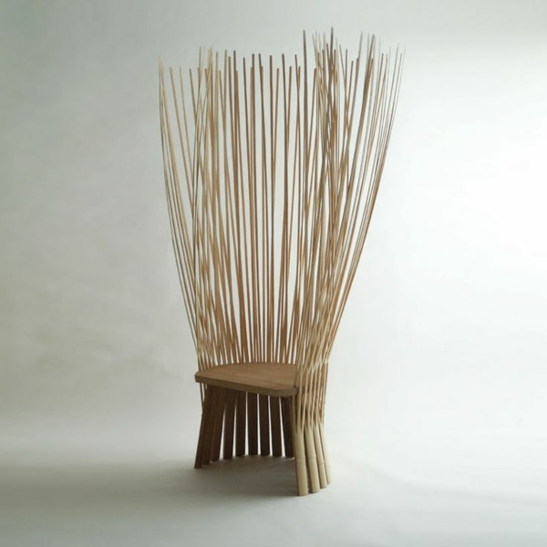 designideen bambus deko stuhl möbel