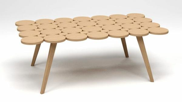 designideen bambus deko möbel  tisch