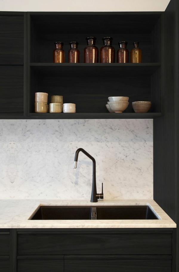 modul küchenmöbel designideen küche waschschrank regale