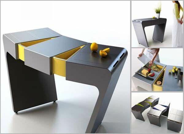 modul küchenmöbel designideen tisch lagerraum