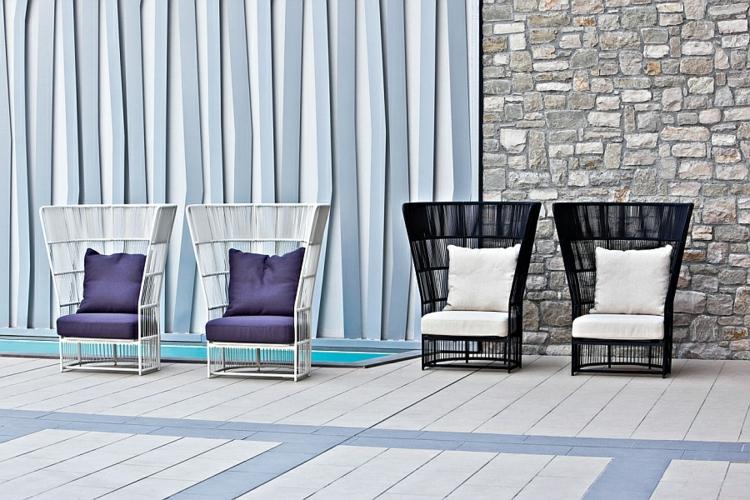 varaschin designer möbel sessel outdoor lounge möbel tibaldo kollektion