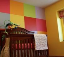 Wandbemalung Kinderzimmer – tolle Interieur ideen