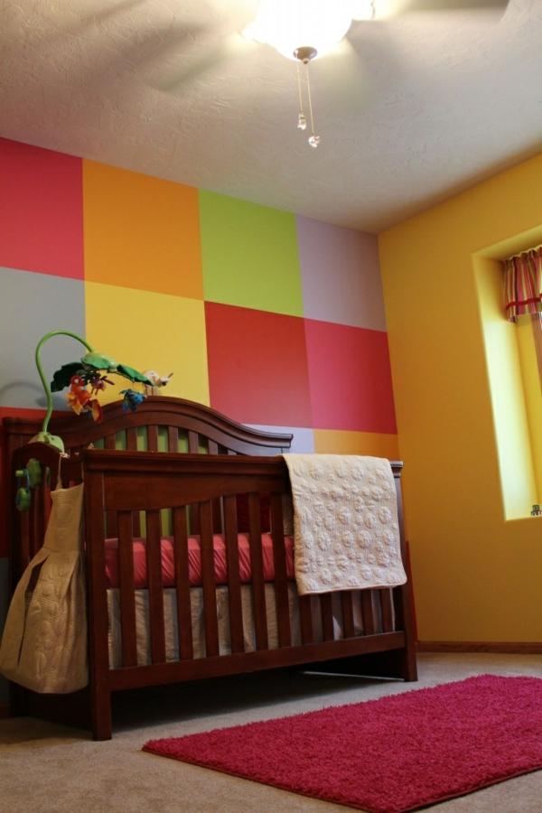 hypnotisieren kinderzimmer wandbemalung muster einfall