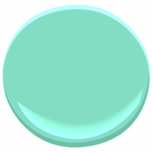 wandfarbe mintgrün farbgestaltung pastellfarben