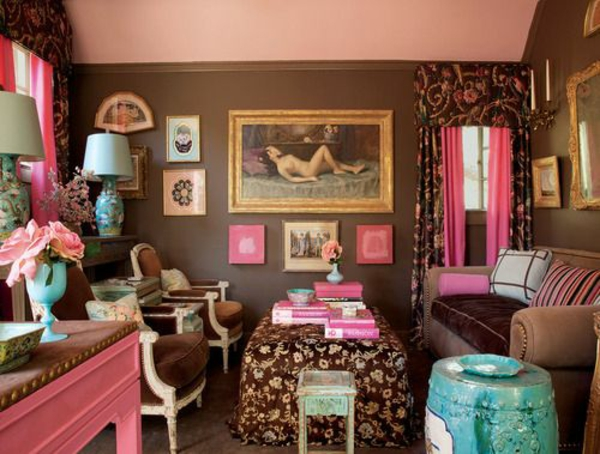 Natürliche Wandfarben wandfarben brauntöne erdige natürliche gemütlichkeit zu hause